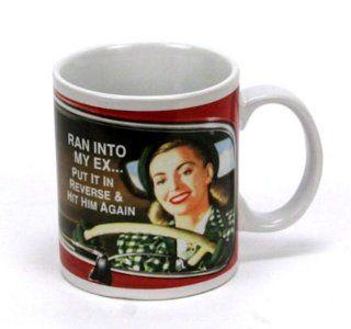 Ran Into My Ex Vintage Humor Coffee Mug Kitchen & Dining