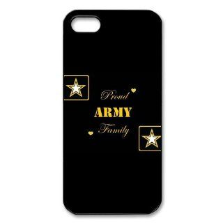 Proud Army Family iPhone 5 Case Hard Plastic iPhone 5 Case: Cell Phones & Accessories