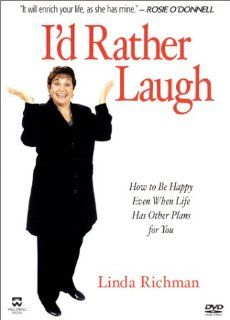 Linda Richman   I'd Rather Laugh: Linda Richman: Movies & TV