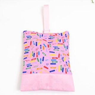Drawing time made in Japan N3222300 in Kids shoes case put slippers, slipper bag quilting type of handmade colored pencil sense (japan import): Toys & Games