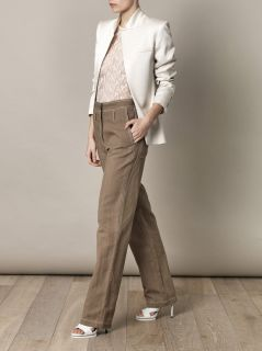 High waisted wide leg trousers  Vanessa Bruno  MATCHESFASHIO