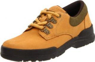 Timberland Plain Toe Bush Oxford Hiker (Toddler/Little Kid/Big Kid), Wheat Nubuck, 6 M US Toddler: Oxfords Shoes: Shoes