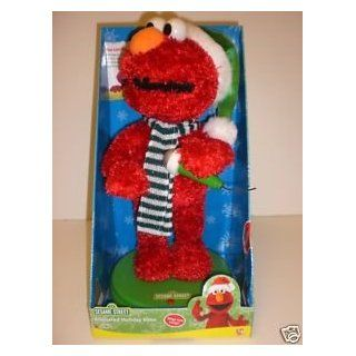 SESAME STREET ANIMATED MUSICAL CHRISTMAS HOLIDAY ELMO (non dancing)   Christmas Trees