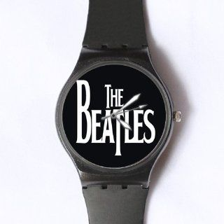 Custom The Beatles Watches Classic Photo Black Watch WXW 1889: Watches