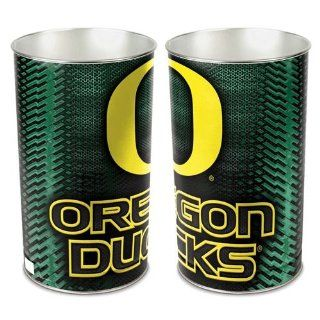 "Oregon Ducks 15"" Waste Basket   Sports Fan Office Waste Bins"
