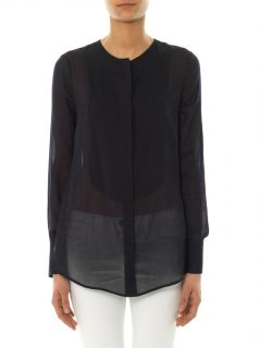 Erin cotton and silk blend blouse  Freda