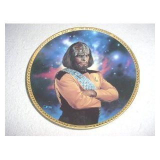 Star Trek Next Generation Lieutenant Worf Plate : Other Products : Everything Else