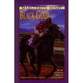 Black Gold: Marguerite Henry, Wesley Dennis: 9780844668833: Books