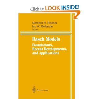Rasch Models Foundations, Recent Developments, and Applications 9781850709442 Science & Mathematics Books @