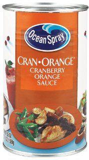 Ocean Spray Sauce Cranfruit Orange Cranberry 12 Ounce Packages (Pack of 12)  Grocery & Gourmet Food