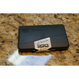 Avery Carter's Foam Stamp Pad, 2.75 x 4.25 Inch, Black, 1 Pad (21381) : Ink Pad : Office Products