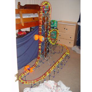 K'Nex: Rippin' Rocket Roller Coaster: Toys & Games