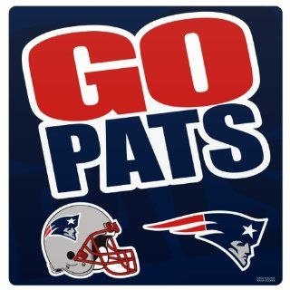 NFL New England Patriots Slogan Magnet Sheet : Sports Related Magnets : Sports & Outdoors