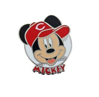 MLB Cincinnati Reds Disney Mickey Collectible Trading Pin : Sports Related Pins : Sports & Outdoors