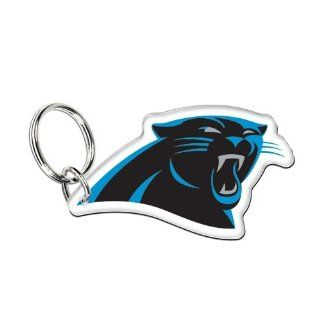 "Carolina Panthers Official NFL 3"" Key Ring Keychain by Wincraft : Sports Related Key Chains : Sports & Outdoors"