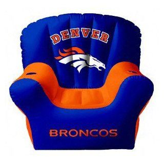 Denver Broncos Ultimate Inflatable Chair : Sports Related Merchandise : Sports & Outdoors