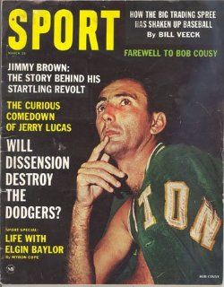 Sport Magazine March 1963 Bob Cousy Boston Celtics : Sports Related Collectibles : Sports & Outdoors