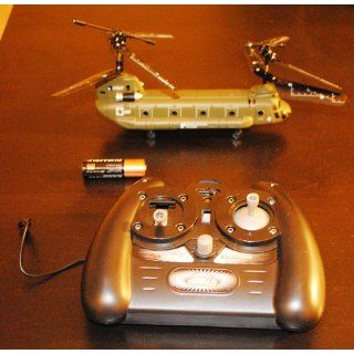 Syma S026 3 Channel RC RTF Mini CH 47 Chinook Helicopter Toys & Games