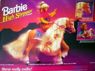 Barbie High Stepper Walking Horse: Toys & Games