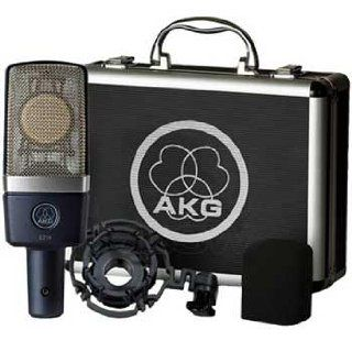 AKG Pro Audio C214 Condenser Microphone, Cardioid: Musical Instruments