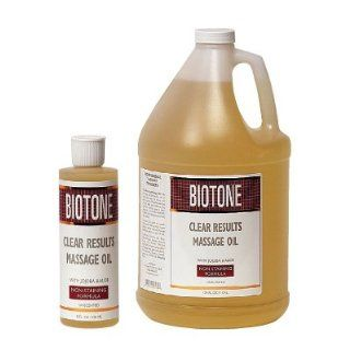 Biotone Clear Results Massage Oil   Half Gallon: Health & Personal Care