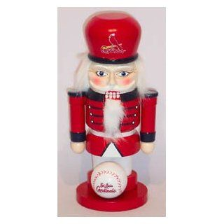 SAINT ST. LOUIS CARDINALS MLB Christmas Nut Cracker NUTCRACKER New : Sports Related Merchandise : Sports & Outdoors