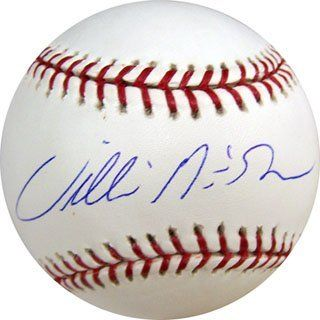 Willie McGee Autographed Baseball : Sports Related Collectibles : Sports & Outdoors