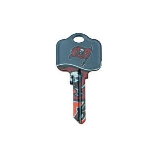 Tampa Bay Buccaneers Kwikset KW1 House Key : Sports Related Key Chains : Sports & Outdoors