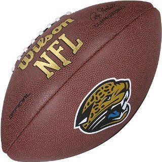 Jacksonville Jaguars Logo Official Football : Sports Related Collectible Footballs : Sports & Outdoors
