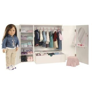 Our Generation Wooden Trunk for Dolls: Toys & Games