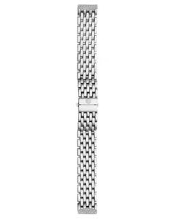 16mm Urban Mini Diamond Bracelet, Steel   MICHELE   Silver (16mm ,6mm )
