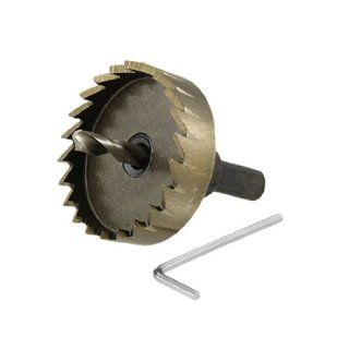 50mm Metal Stainless Steel Cutter Hole Saw w Hex Wrench   Hole Saw Arbors
