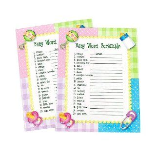 Baby Shower Word Scramble Game (2 dz): Health & Personal Care