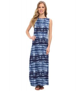 Jones New York Sleeveless Boatneck Dress Womens Dress (Blue)