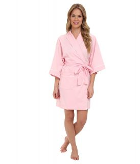 BOTTOMS O.U.T GAL Knitted Jersey Kimono Robe Womens Pajama (Pink)