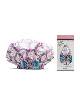 Designer Shower Cap, Sweet Platinum   Dry Divas   Platinum