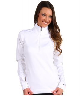 Nike Golf Thermal Half Zip Pullover Womens Sweatshirt (White)