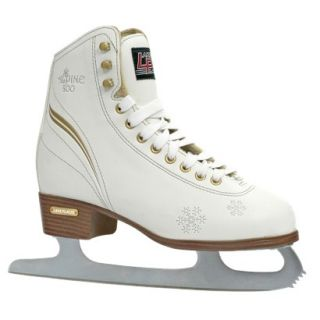 Womens Lake Placid Alpine 800 Figure Ice Skate   White (7)