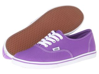Vans Authentic Lo Pro Electric Purple) Skate Shoes (Purple)