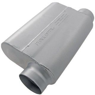 """Flowmaster 9435449 40 Series Race Muffler   3.50"""" Offset In / 3.50"""" Same Side Out   Aggressive Sound Automotive"""