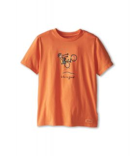 Life is good Kids Unlimited Air LIG Crusher Tee Boys T Shirt (Orange)