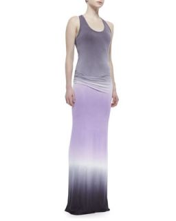 Womens Hamptons Ombre Jersey Maxi Dress   Young Fabulous and Broke   Lavender