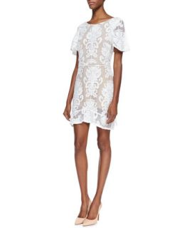 Womens San Marcos Open Back Lace Dress   For Love & Lemons   Ivory (MEDIUM)