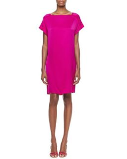 Womens Olivia Silky Shift Dress   Elie Tahari   Ultra violet (LARGE/12 14)