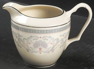 Lenox China Mt. Vernon Creamer, Fine China Dinnerware   Presidential,Gray Scroll