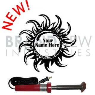 Branding Iron   Electric Unit BN 501U Personalized Sun Saw Design   Circular Saw Blades
