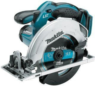 "Makita BSS611Z 18 Volt LXT Lithium Ion Cordless 6 1/2"" Circular Saw (Bare Tool Only, No Battery)   Power Circular Saws"