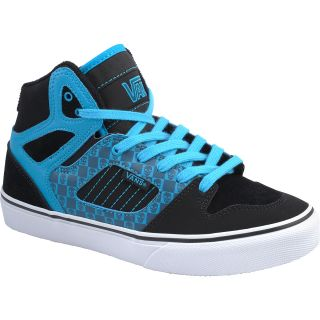 VANS Boys Allred High Top Skate Shoes   Size: 6.5medium, Black/blue