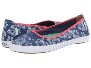 Vans Abiza STV Navy/White) Womens Slip on Shoes (Navy)