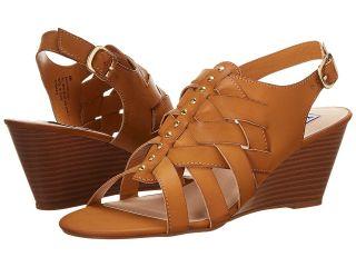 XOXO Sally Womens Wedge Shoes (Tan)
